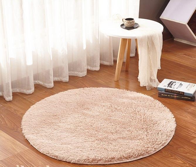 Teppich Rund O 80 120 Zimmerteppich Kinderzimmer Shaggy Flokati